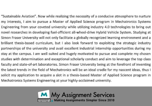 Sample SOP for Mechanical Engineering2