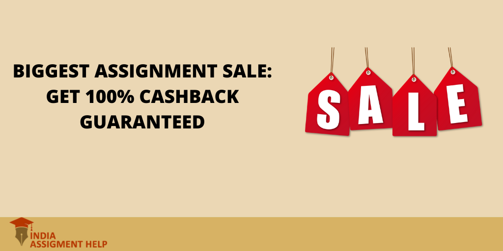Biggest Assignment Sale: Get 100% Cashback Guaranteed