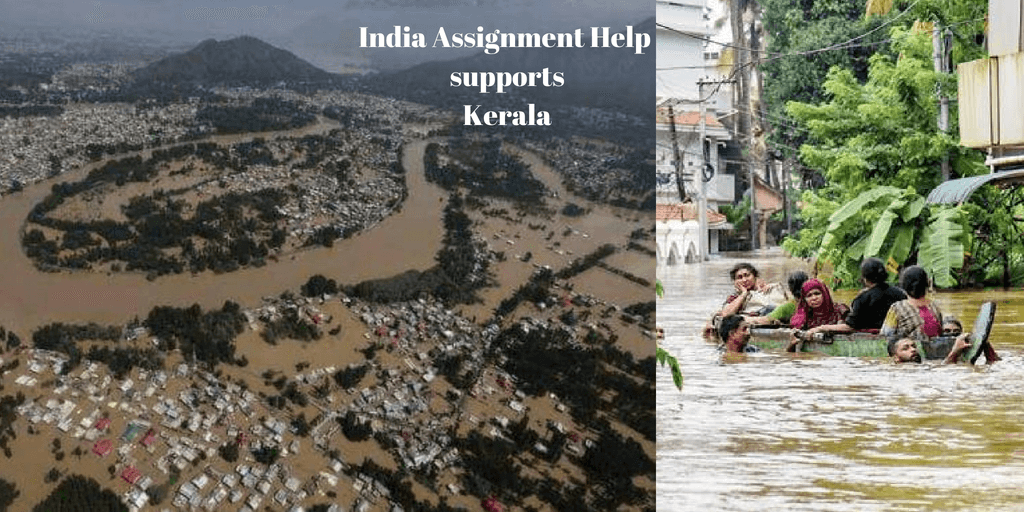 India Assignment Help Supports Kerala Flood